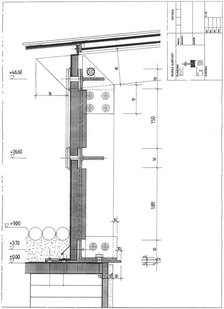 Oberlicht detail  ABKA - Architekturbüro Kaiser - Schulen und Kindergärten